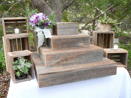 Hill Country Rustic Cupcake Stands And Crates Hillcountryrusticcom